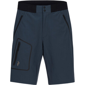 Peak Performance M's Light Softshell Shorts Blue Steel